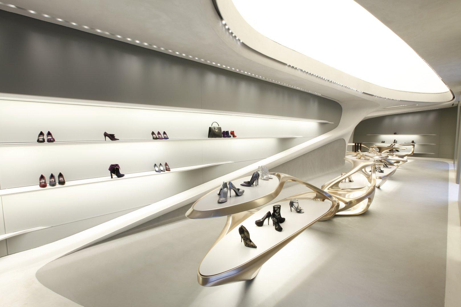 Stuart Weitzman Flagship Store in Milan
