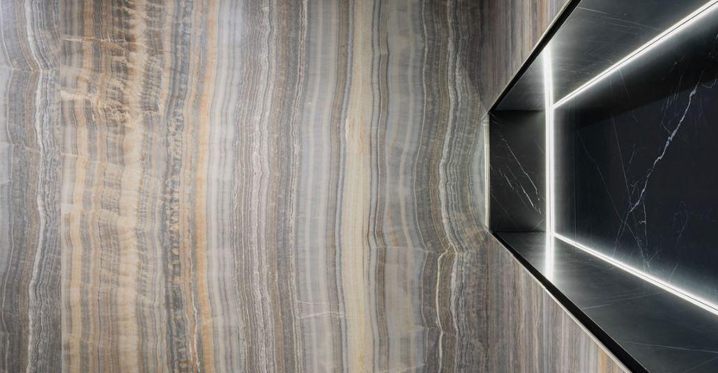 Grey Onyx Vein Cut - Ultra Onici